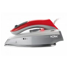 If you are looking for household appliances at the best prices, don't miss the Steam Iron Solac Viaggio 45 g/min Red Grey and a wide selection of small household appliances! Colour: Red Grey Power: 1000 W 45 g/min 50 Shades Of Grey, Red And Grey, Ferro A Vapor, Steam Iron, Clothes Line, Household, Home Appliances, Shopping, Discount Price