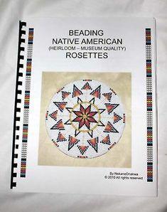 BEADWORK BEADING NATIVE AMERICAN FLUTE - BEADBOARD BEADING BOOK HOW TO