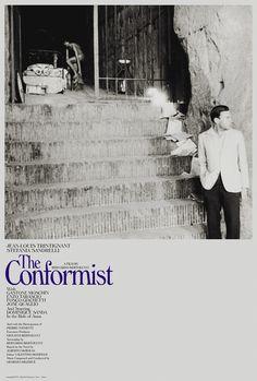 Poster of Bertolucci´s Il Conformista. Genuine movies
