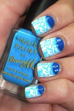 Kelsies Nail Files: Tadashi Shoji Inspired #nail #nails #nailart