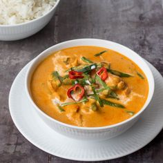 Indian Food Recipes, Asian Recipes, Healthy Recipes, Ethnic Recipes, Panang Curry Recipe, Good Food, Yummy Food, Food Crush, Curry Recipes