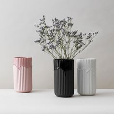 Danish Lyngby Porcelain just released their new collection and my favorite is their classic matt vase design with a drip effect in glossy porcelain in the same color. I think this updates this timeless piece in a playful and elegant … Continue reading →