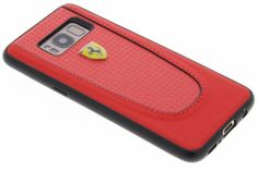 Ferrari Pit Stop Carbon Hardcover for Samsung Galaxy S8