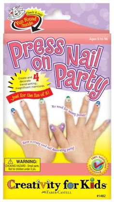 Creativity for Kids Press On Nail Party >>> Read more reviews of the product by visiting the link on the image.