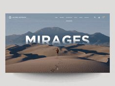 """""""Retro interface, Reading App, Nike + Tinder and more… Weekly interactions roundup!"""" is published by Muzli in Muzli - Design Inspiration. Travel Website Design, Best Website Design, Website Design Layout, Web Layout, Layout Design, Banner Design, Web Design Studio, Web Ui Design, Design Design"""
