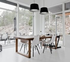 Dining Chairs, Dining Room, Dining Table, Scandinavian Style, Sweet Home, Interior, Modern, Kitchen, Rollers