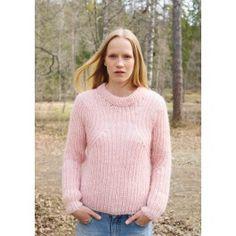 patent knitted sweater sandnes garn