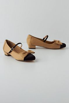 I can get them! Thank you Anthropologie, you made your little employee one HAPPY BIRD! Manor Mary-Janes #anthropologie