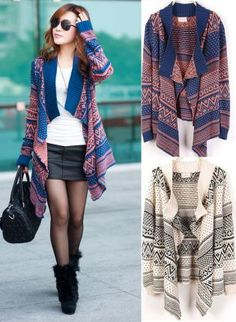 Floral Waterfall Cardigan | Products