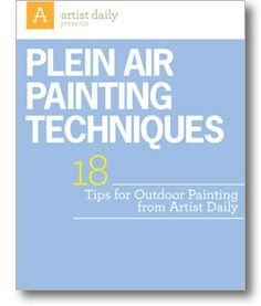 Download your Free Plein Air Painting Tips