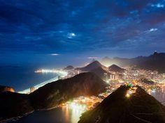 Stunning pic of Rio de Janeiro, Brazil.