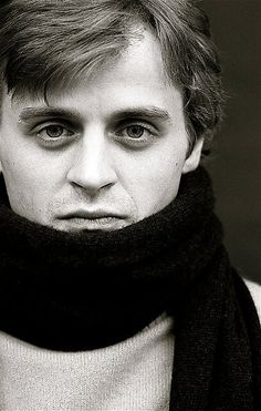 Baryshnikov - funny, if you put glasses on him he would look like Harry Potter.  Must be the scarf.