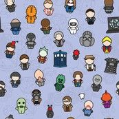 Doctor Who fabric......