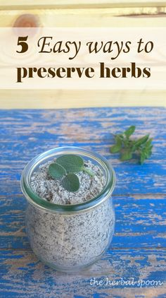 5 easy ways to preserve herbs for winter - The Herbal Spoon