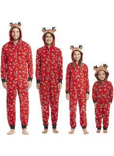 4315943f42 Deer Matching Family Christmas Pajamas Christmas Onsies