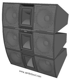 Skema Desain Box Speaker 12 inch Double Untuk Mid-Hi 12 Inch Subwoofer Box, Subwoofer Box Design, Speaker Box Design, Speaker Plans, Monitor Speakers, Circuit Diagram, Boombox, Snake, Audio