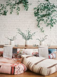 Southwestern Seat Cushions @lootvintage @oneeleveneast