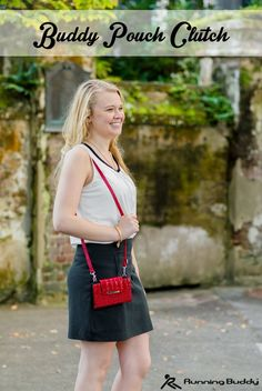 A fabulous twist to the traditional Buddy Pouch. Carry it as a clutch, over the shoulder, cross body, wristlet, or magnetically connect to jeans, skirt or any waistband\belt. The clutch is just the right size to carry the essentials for a luncheon or an evening out in the cruise ship's main dining room.