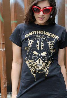 Star Wars 'Vader Self Made' Ladies T-shirt