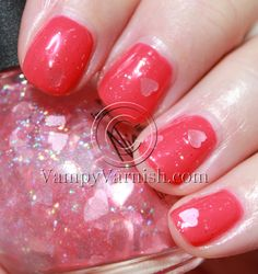Orly OMG with Nicole Love Your Life  I just bought some and I can't wait to try this look.