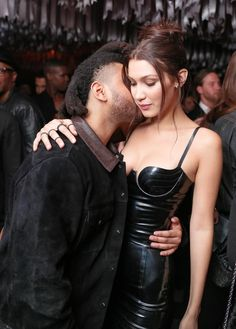 May 2: Bella Hadid and Abel Tesfaye at the Met Gala after-party in NYC.