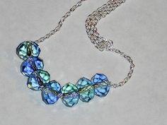 Swarovski crystal necklace Carrie inspired necklace by mcutecharms