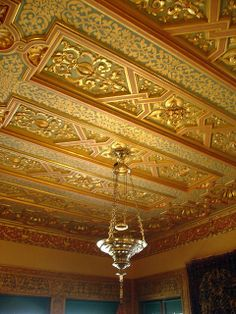hearst castle | Hearst Castle guest room ceiling | Flickr - Photo Sharing!
