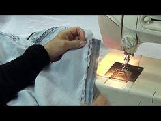 Vídeo aula Ajustar / atrás da calça jeans (Parte 2) - YouTube
