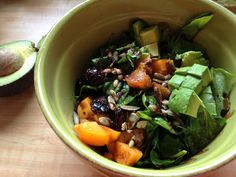 Apricots Now In Season: Apricot Avocado Salad  www.foodiewithalife.com