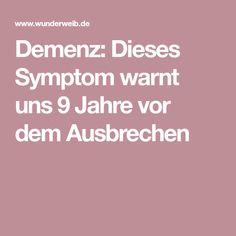 Demenz: Dieses Symptom warnt uns 9 Jahre vor dem Ausbrechen