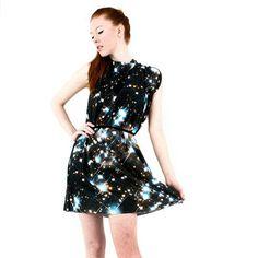 Starry Night Spandex Dress