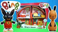 Bing's Bunny House Unboxing BBC Cbeebies Bing TV Show | Kids Play O'Clock