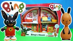Bing's Bunny House Unboxing BBC Cbeebies Bing TV Show | Kids Play O'Clock
