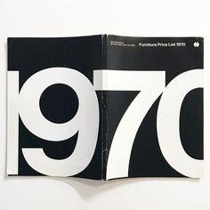 Furniture Price List 1970 @knollinc International New York catalog front/back