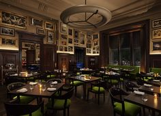 The jade room at The Clocktower.  Jason Atherton and The New York EDITION.