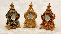 Wake up like a Queen with one of our Marie Antoinette clocks - replica Rococo period - available at www.therubyoracle.com.au Queen, Marie Antoinette, Rococo, Clocks, Period, Gifts, Decor, Presents