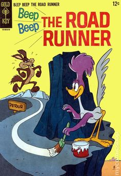 Beep Beep the Road Runner #1 (1966 Gold Key) comic book
