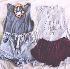 Gnarly Outfit & Moon Child Outfit