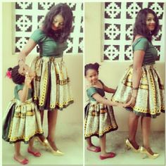 Ankara Gown for Mother & Child http://www.dezangozone.com/2015/05/ankara-gown-for-mother-child.html