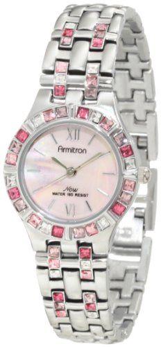 Armitron Women's 753782PMPS NOW Swarovski Crystal Accented Silver-Tone Dress Watch Armitron,http://www.amazon.com/dp/B003SLSGUY/ref=cm_sw_r_pi_dp_Wm4wtb008X7S4XHX