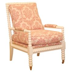 white bobbin chair? change the fabric