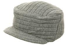 Flex Fit Gray Military Style Knit Cap