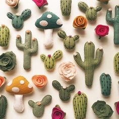 You probably didn't realize how much you needed cactus magnets in your life until right this moment. From Etsy seller @lunabeehive.
