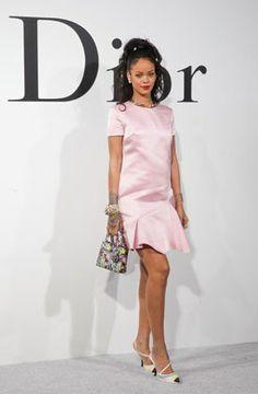 Rihanna at the 2015 Dior Cruise Show in Brooklyn