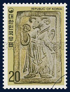 Postage Stamps for New Year`s Greetings, sheep, Animals, Ivory, Gray, Yellow, 1978 12 01, 연하우표, 1978년12월01일, 1117, 12지신상(양), postage 우표