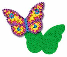 Butterfly Pegboard for Perler Fuse Beads by Dimentions. $3.89. Fuse beads together with a household iron. Ages 5 and up. Great for older kids too. Designed for use with Perler Beads. Pegboards can be reused. These Pegboards in assorted colors are designed for use with Perler Beads. Simply place beads on the Pegboard, cover with Ironing Paper, then fuse beads together with a household iron. Once beads are fused together, Pegboards can be reused. Ages 5 and up