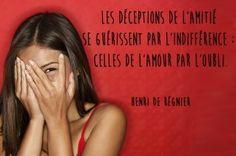 Citation rupture d'Henri de Régnier