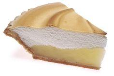A slice of lemon meringue. By Renne Comet (Creative Commons)