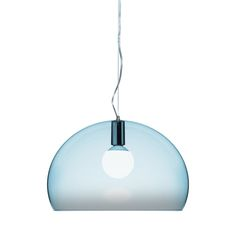 add contemporary style to any space with this fly ceiling light in light blue from kartell designed by ferruccio laviani this light is subtle yet bloom lamp gold ferruccio laviani