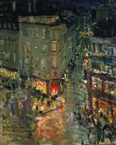 Konstantin Korovin, Boulevard des Capucines, 1906 Carmen Pinedo Herrero: Nuestra cita en París: Konstantin Korovin